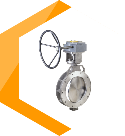Eccentric Designed Butterfly Valve